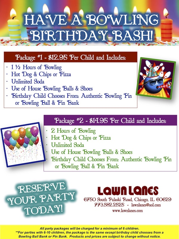 Kids Bday Parties